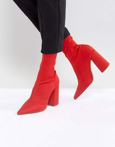 Missguided Flared Heel Ankle Boot For under $65  http://shopstyle.it/l/DgkV