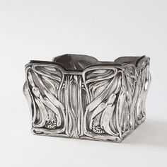 DeFeure Art Nouveau Planter | From a unique collection of antique and modern planters and jardinieres at https://www.1stdibs.com/furniture/building-garden/planters-jardinieres/