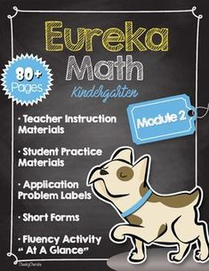 Eureka Math Companion BUNDLE - Module 2 by Cheeky Cherubs   Teachers Pay Teachers