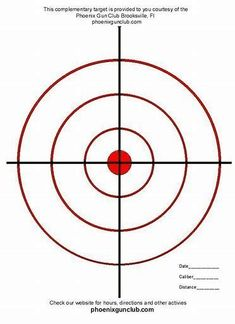 The gallery for --> Printable Targets For Pistol Shooting Paper Shooting Targets, Pistol Targets, Range Targets, Shooting Range, Shooting Sports, Target Practice, Free Printables, How To Draw Hands, Geek Stuff
