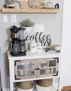 Coffee bar sign, metal coffee bar sign, rustic word art sign, house gift idea, coffee lovers decoration - This coffee bar sign is a perfect addition to your family home! This coffee bar sign makes 16 gauge - Coffee Bar Signs, Coffee Bar Home, Home Coffee Stations, Coffee Bar Ideas, Coffe Bar, Beverage Stations, Office Coffee Station, Coffee Station Kitchen, Coffee Area