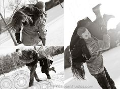 A winter/snow shoot would be fun. It would be fun to do it with a friend as well :D