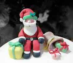 Santa claus, Babbo Natale  pasta di zucchero