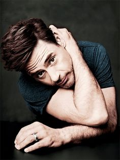 i'm probably only attracted to robert downey jr. bc he's iron man/my favorite superhero
