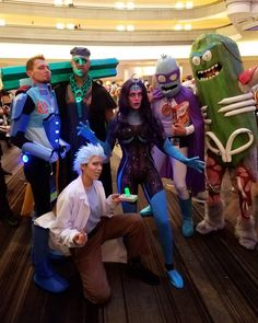 best rick and morty cosplay group from dragon con
