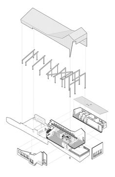 Image result for landfill axonometric drawing