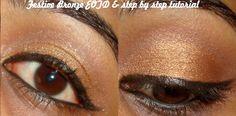 Itz Raining Beauty: Festive Bronze Eotd & Step by Step tutorial