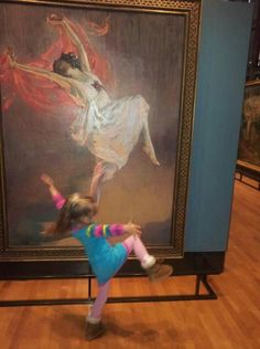 REFLECTIONS THIS is why we visit museums. Art is life. Pass it on!!!  Philbrook Museum of Art