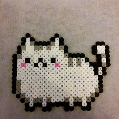 Pusheen perler beads by bathoryh