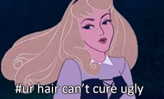Pin for Later: Sleeping Beauty Is a Total Mean Girl in These Hilarious GIFs Sleeping Beauty on Tangled Source: Disney and Tumblr user dopeybeauty