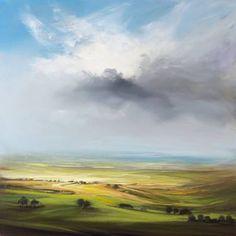 "Saatchi Art Artist Dairo Vargas; Painting, ""Shining Daybreak"" #art"
