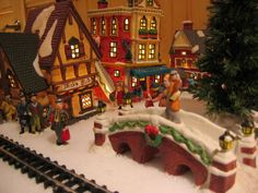 villages ornament miniatures miniature christmas village k5que3ow - Miniature Christmas Town Decorations