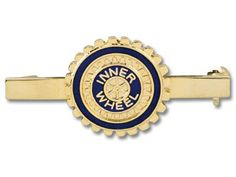 Inner Wheel Pin med barre, 19 mm. Jydsk Emblem Fabrik A/S   www.jef.dk   +45 70 27 41 11