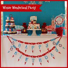 Winter Wonderland  Penguin  Snow  by allisonpowelldesigns on Etsy, $25.00
