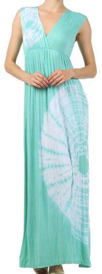 Mint Tie Dye Dress
