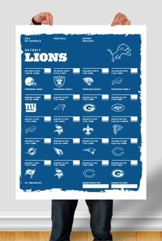 My 2014 NFL schedule template for all 32 teams. Ford Field, Schedule Design, Graphic Design Resume, Pinterest Design, Detroit Lions, Sample Resume, All About Time, Nfl, Templates