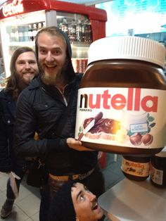 We're passionate about Nutella. Rimini Italy 2012