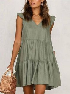 Cheap Maxi Dresses, Dresses For Teens, Casual Dresses For Women, Cute Dresses, Dresses For Work, Sexy Dresses, Dresses Online, Casual Outfits, Petite Dresses Casual
