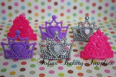 Cupcake Queen Princess decorations rings 12 Cupcake Queen, Princess Cupcakes, Princess Party, First Birthday Parties, First Birthdays, Birthday Ideas, Bakery Supplies, Party Ideas, Decorations