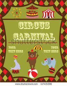 stock-vector-cute-circus-card-design-vector-illustration-117431596.jpg (367×470)
