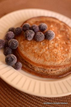 ふわふわマクロビ全粒粉のパンケーキ~Vegan Whole Wheat Pancake~