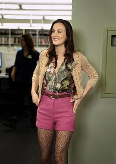 If I could have anyone's wardrobe, hands down it would be Blair Waldorf's