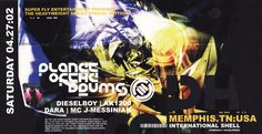Planet of the Drums - Saturday, April 27, 2002. Memphis, Tennessee (Drum & Bass)
