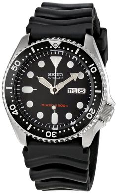 Seiko Men's SKX007K Diver's Automatic Watch My birthday present!!! Thanks hon!!!!