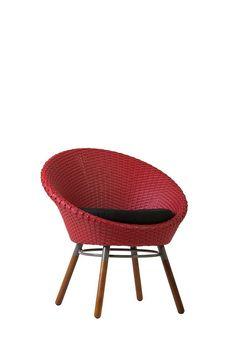 Design | Dona Flor Mobília | Eixo | Poltrona | Vermelho