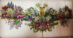 "106 Likes, 4 Comments - Nur Syazwani Omar (@wani_omar) on Instagram: ""#enchantedforestcoloringbook #secretgardencolouringbook #desenhoscolorir…"""