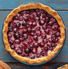 Feel free to use fresh or frozen fruit in this Sour Cherry Pie recipe. Either works well in the sour cherry pie filling—and makes for a mouthwatering partner for the pastry crust in this homemade cherry pie recipe. Homemade Cherry Pies, Homemade Pie, Easy Pie Recipes, Dessert Recipes, Yummy Recipes, Bhg Recipes, Fast Recipes, Dessert Ideas, Sour Cherry Pie