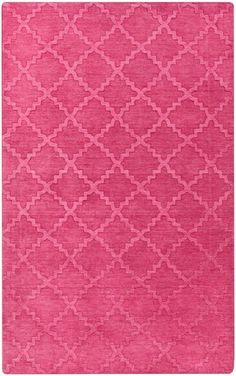 Rosenberry Rooms has everything imaginable for your child's room! Share the news and get $20 Off  your purchase! (*Minimum purchase required.) Etching Lattice Rug in Hot Pink #rosenberryrooms