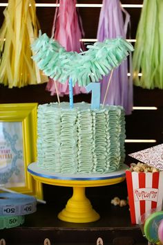 Vintage Carnival 1st Birthday Party - Kara's Party Ideas - The Place for All Things Party