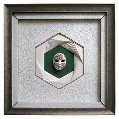 - Octogone ou Hexagone en Eventail - PLEIN CADRE / L'ATELIER CADRE & DECO