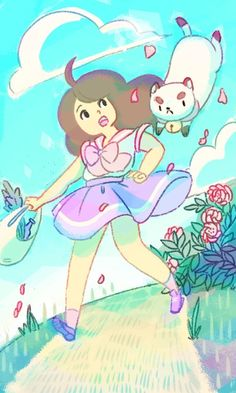 I love Bee and PuppyCat. I want to work on this show...... http://avsatterfield.tumblr.com