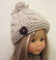 Fingering Ravelry: Wool Hat for Nancy Doll pattern by Mònica Cifuentes