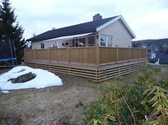 tips til utforming av rekverket på en veranda - - Tanngarden Shed, Outdoor Structures, Tips, Lean To Shed, Advice, Backyard Sheds, Coops, Barn, Tool Storage