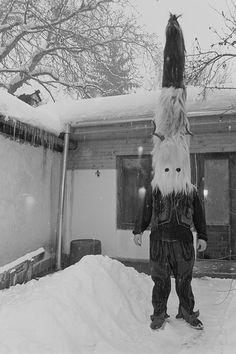 "borntoulouse: "" Jill Waterman. Kukeri, Razlog, Bulgaria on New Year 2012 Dance Away the Evil Spirits """