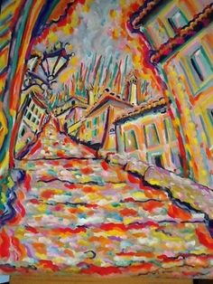 Spanish steps by James Paul Brown on mobiART Paul Brown, Spanish, Paintings, Creative, Inspiration, Design, Art, Biblical Inspiration, Art Background