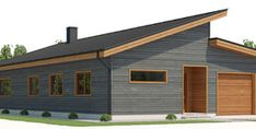 Home Plan CH494 Dream House Plans, House Floor Plans, Resort Plan, Concept Home, Barn Lighting, Small Houses, My House, Building A House, Shed