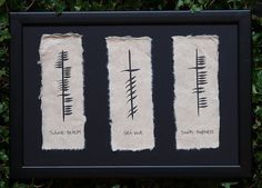 ogham love | Irish Triple Ogham - Health, Love and Happiness | PRLog
