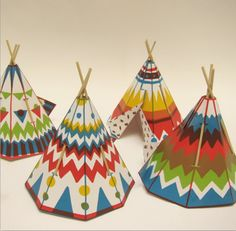 50 Finds for Junior Crafters  - thanks for including our tepees, DotComs For Moms     http://kickcanandconkers.bigcartel.com/product/tepee-kits