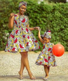 African Print Dresses Styles For Ladies 2019 Ankara Styles For Kids, African Dresses For Kids, African Wear Dresses, Ankara Gown Styles, African Fashion Ankara, Latest African Fashion Dresses, African Print Fashion, African Attire, African Kids