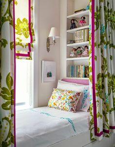 girls bedroom nook // Tilton Fenwick.