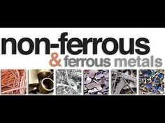 Ever wondered what the difference between ferrous and non-ferrous metals is? Probably not, but if you're like me you have. In this thrilling video you will b...