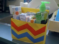 teacher baby shower gift. a six pack.lol