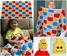 Who needs me to make this for them?  I need to make this Lego Blanket!