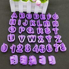 [US $2.14] EZLIFE 40pcs/Set Alphabet Letter Number Decorative Tools  #40pcsset #alphabet #decorative #ezlife #letter #number #tools