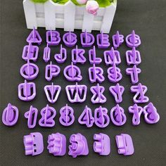 New Cheap 40pcs/Set Alphabet Letter Number Cake Cutter Decorative Tools Fondant Cake Biscuit Baking Mould Cookie Cutters ZH810