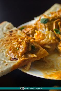 Instant Pot Indian Butter Chicken (with Slow Cooker Option) - Dishes & Dust Bunnies Crockpot Indian Recipes, Chicken Recipes, Butter Chicken Slow Cooker, Mango Chutney Chicken, Indian Dessert Recipes, Ethnic Recipes, Instant Pot, Indian Tacos, Cooking Cream